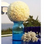 Beachy Carnation Pomander - brides.com