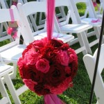 Rose and Carnation Floral Pomander