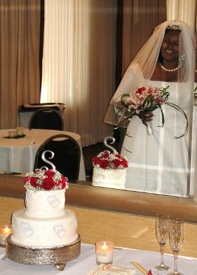 Tonja's wedding cake