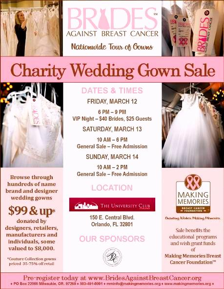 2010 BABC Gown Sale information