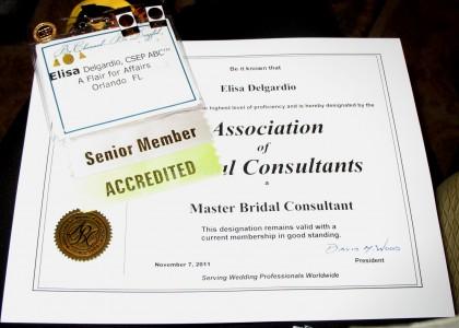 Elisa Delgardio Master Bridal Consultant(tm)