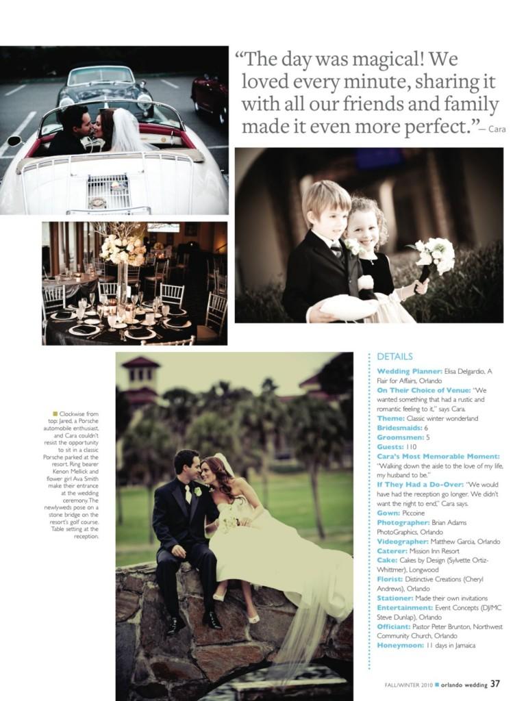Orlando Wedding: Mission Inn Resort