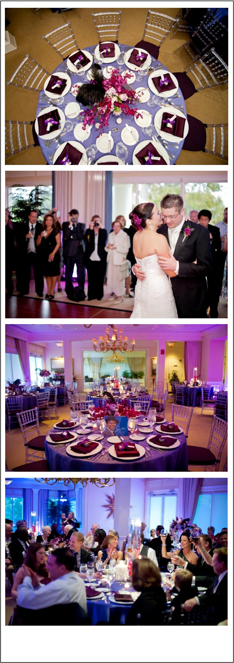 Purple and plum wedding by A Flair for Affairs