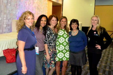WOW! Moms (left to right): Erin, Kelly, Elisa, Stacie, Filomena, Aymee #WOWMoms #TSE2012
