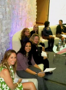 WOW! Moms (front to back): Stacie, Kelly, Christine, Erin, Aymee, Filomena, Annette #WOWMoms #TSE2012