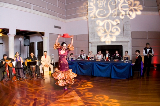 isleworth wedding flamenco dancers