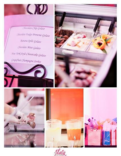 Quince details - gelato cart