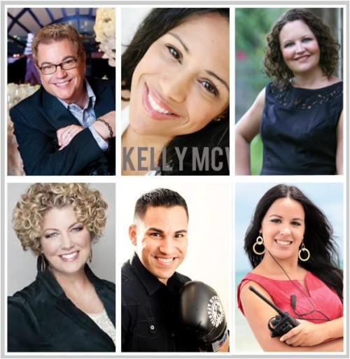 Shine Event Speakers: Donnie Brown, Kelly McWilliams, Eddie Diaz, Heather Canada, Coach Jenn Lee, Brenda Fernandez