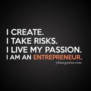 am an entrepreneur