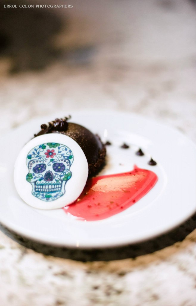 Day of the Dead Halloween Dessert Sugar Skull