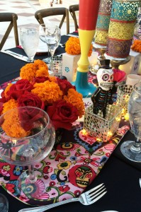 Day of the Dead Halloween Dinner Party